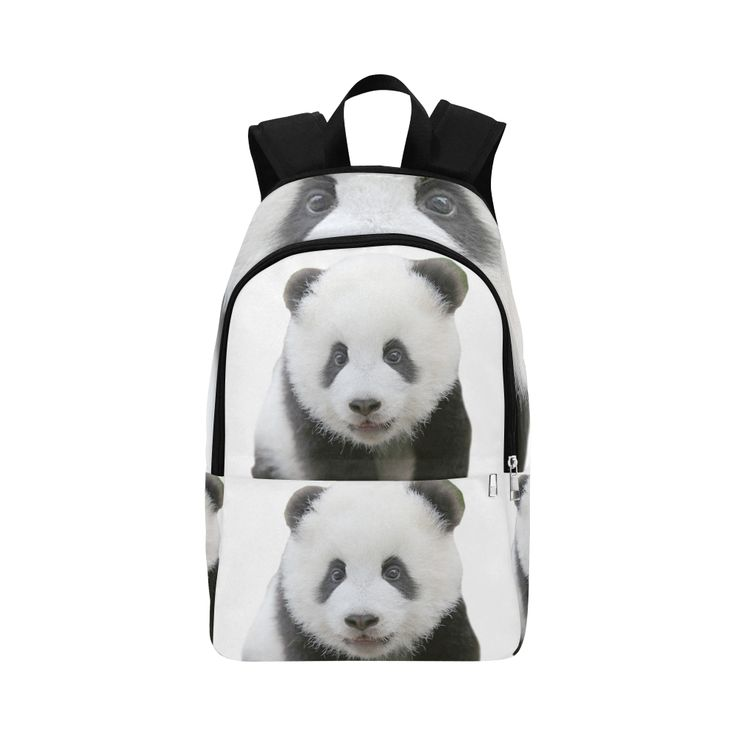 Panda Bear Fabric Backpack for Adult (Model 1659)
