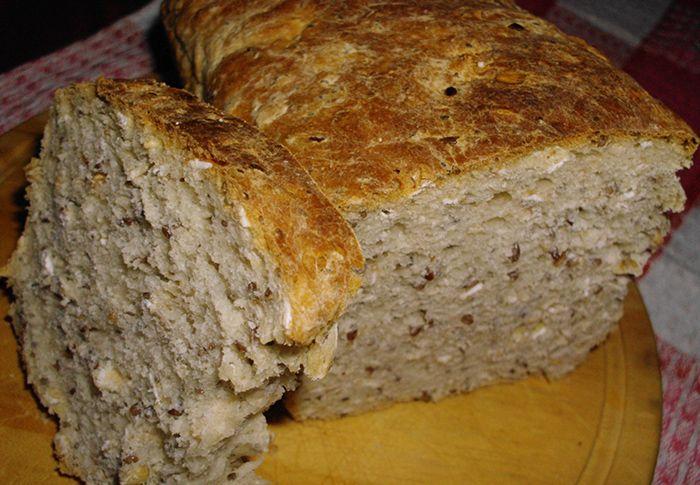 Pan con Avena, Chía y Lino