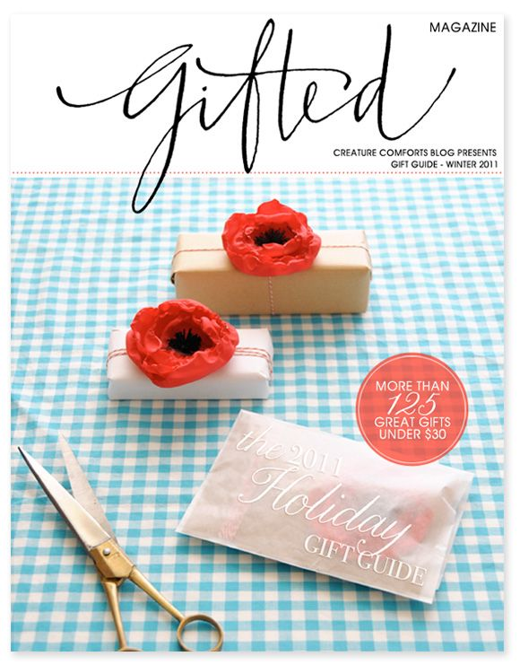 Gifted Magazine: Holiday Gift Guide 2011