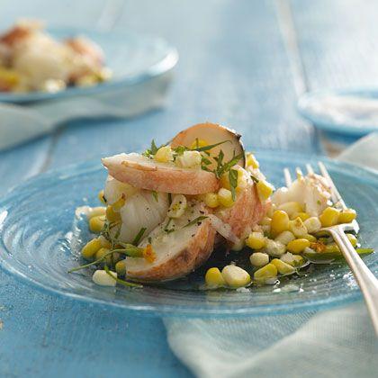 Lobster and Corn Salad With Tarragon Vinaigrette Recipe - Health Mobile