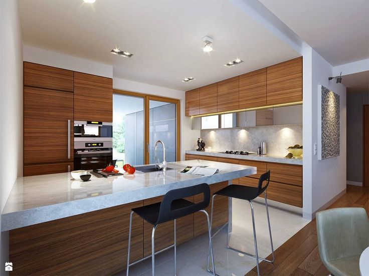 Kuchnia styl Nowoczesny - zdjęcie od DOMY Z WIZJĄ - nowoczesne projekty domów - Kuchnia - Styl Nowoczesny - DOMY Z WIZJĄ - nowoczesne projekty domów