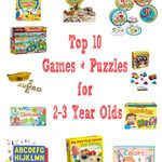 One of the easiest ways to incorporate playful learning into your child's day is through games and puzzles! Here are10 games & puzzles for 2-3 years olds!