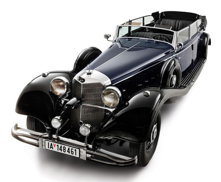 This 1939 Mercedes-Benz 770K Grosser Offener Tourenwagen was used as the main parade car of Adolf...