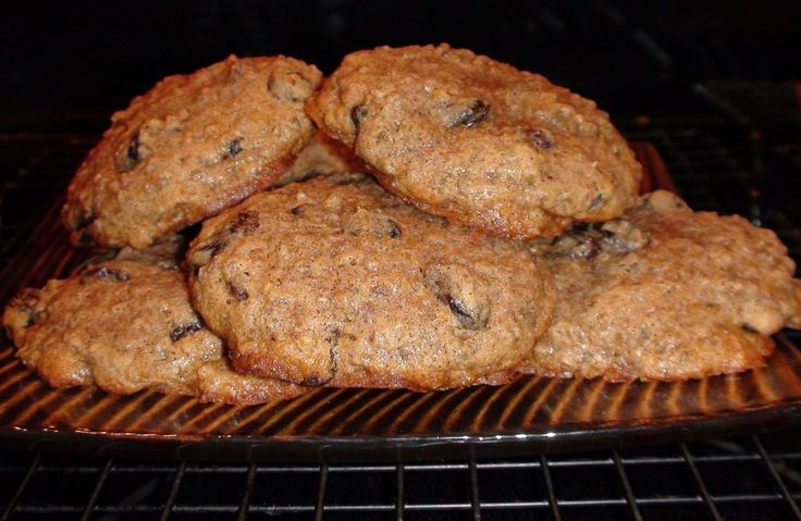 Precooking the oatmeal in these cookies makes them dense and moist with a chewy texture. They are filling and nutritious, perfect for breakfast. Make cookies or bars. Many variations available!