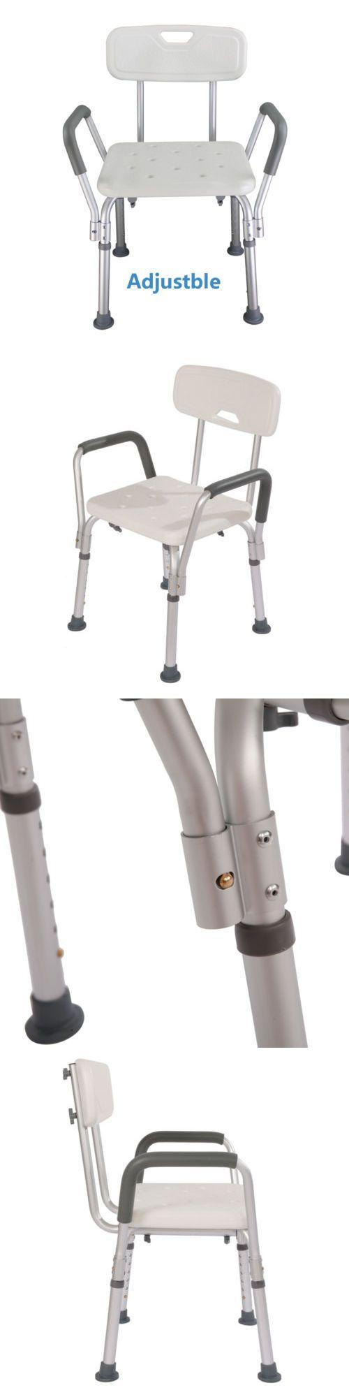 best 25 bath chair for elderly ideas on pinterest handicap shower and bath seats new adjustable medical shower chair elderly bath seat armrest back legs