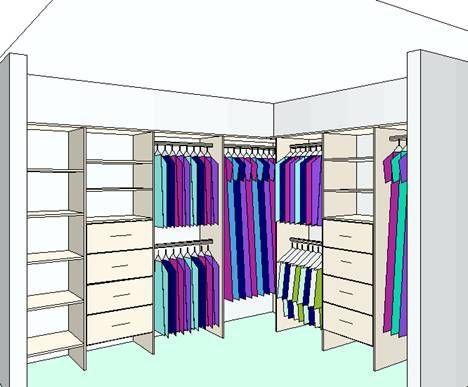Corner Wardrobe - Guide