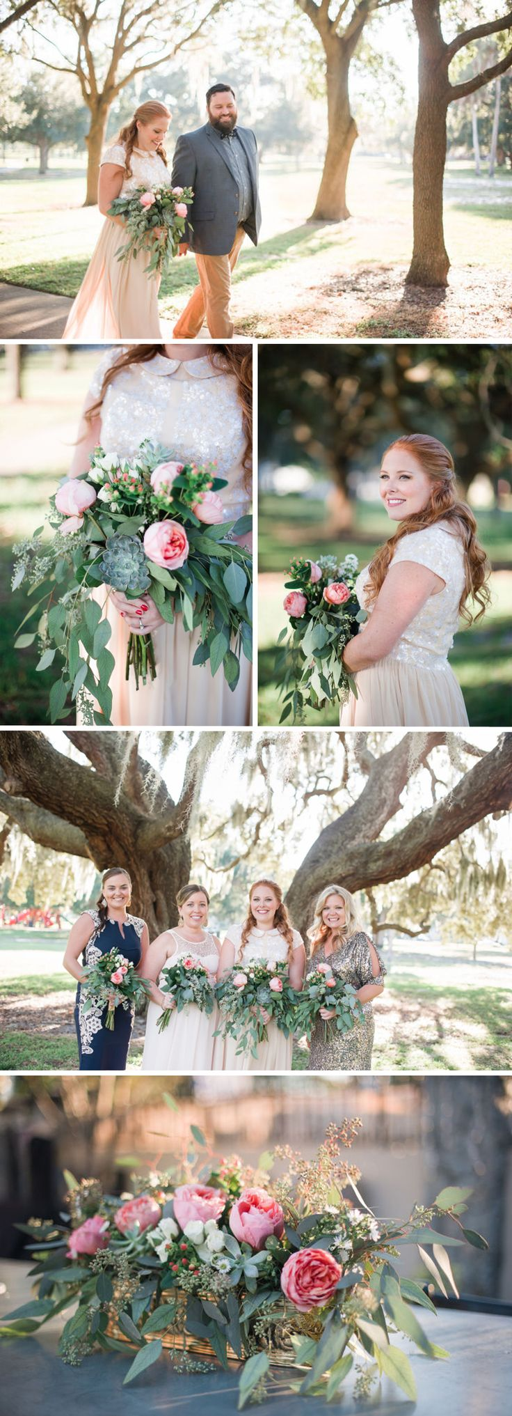 Hayley used wholesale flowers from FiftyFlowers.com to create her Gorgeous DIY Wedding Flowers! #wholesaleflowers #diyweddingflowers #fiftyflowersreview