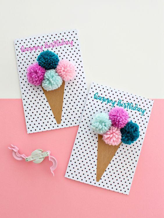 Днем, как сделать красивые и легкие открытки на день рождения