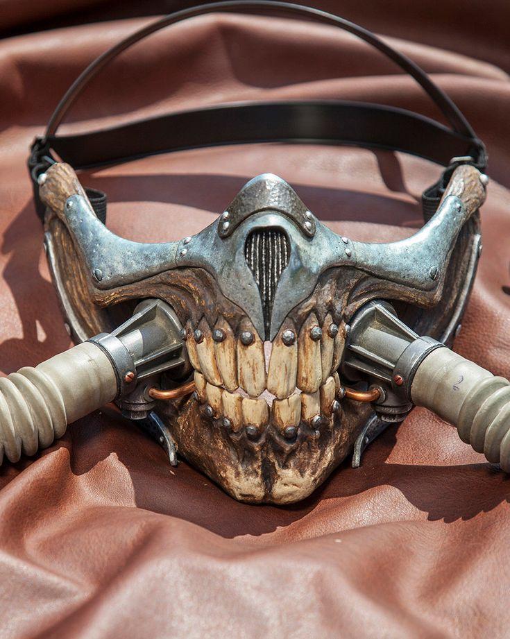 Immortan Joe Mask Replica (150.00 USD) by DappledLightStudio