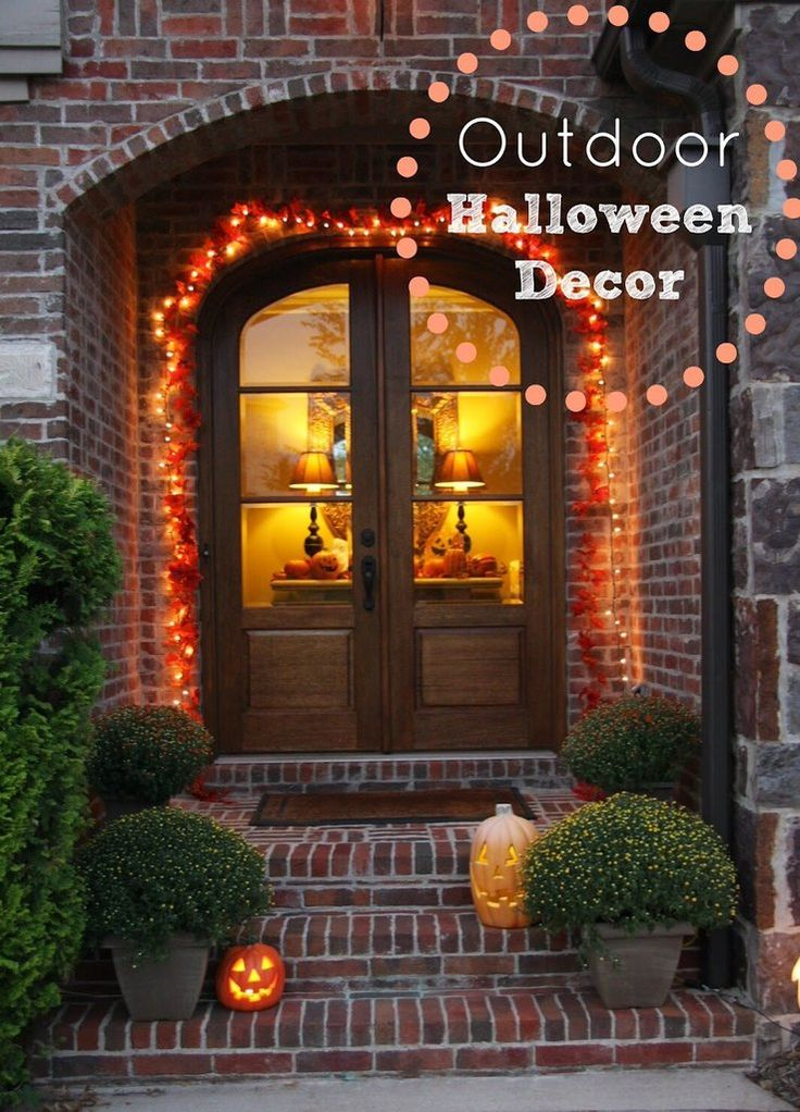 Best 25 outdoor halloween decorations ideas on pinterest for Idea deco guijarro exterior