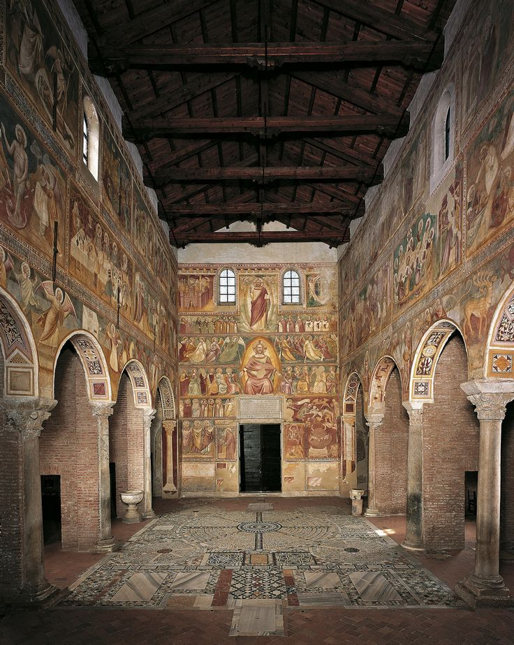 Italy, Abbazia di Pomposa (benedictine abbey), ca 1060