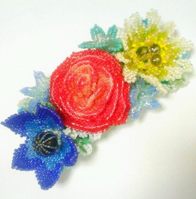 バレッタ Bouquet  (プリミティブカラー) - Stellamaris