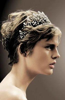 la moda en tu cabello peinados de novia con pelo corto