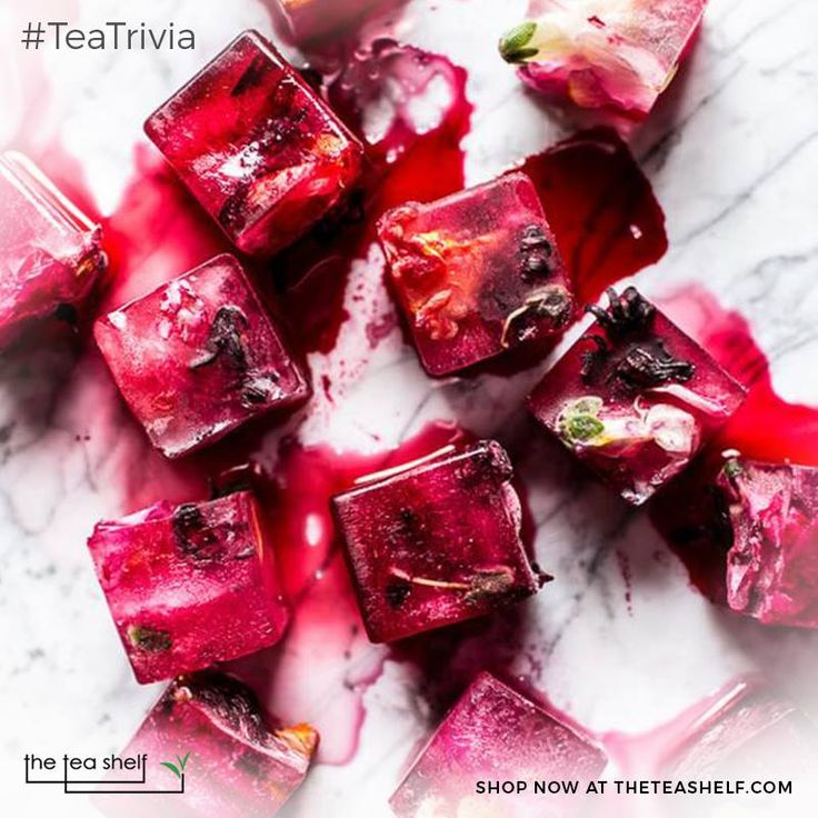 Karkade is a typical tea drank in Egypt and is made from Hibiscus flowers!