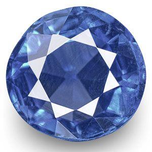 0.54-Carat Rare VVS-Clarity Cornflower Blue Kashmir Sapphire