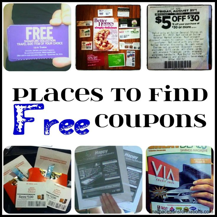 With rising costs of Sunday Papers, here is a list of a few places you might not of thought of to find coupons. http://snailpacetransformations.com