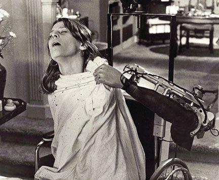 Julie Christie as Susan Harris in Demon Seed