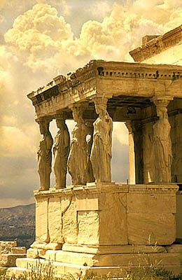 The Acropolis. Athens, Greece