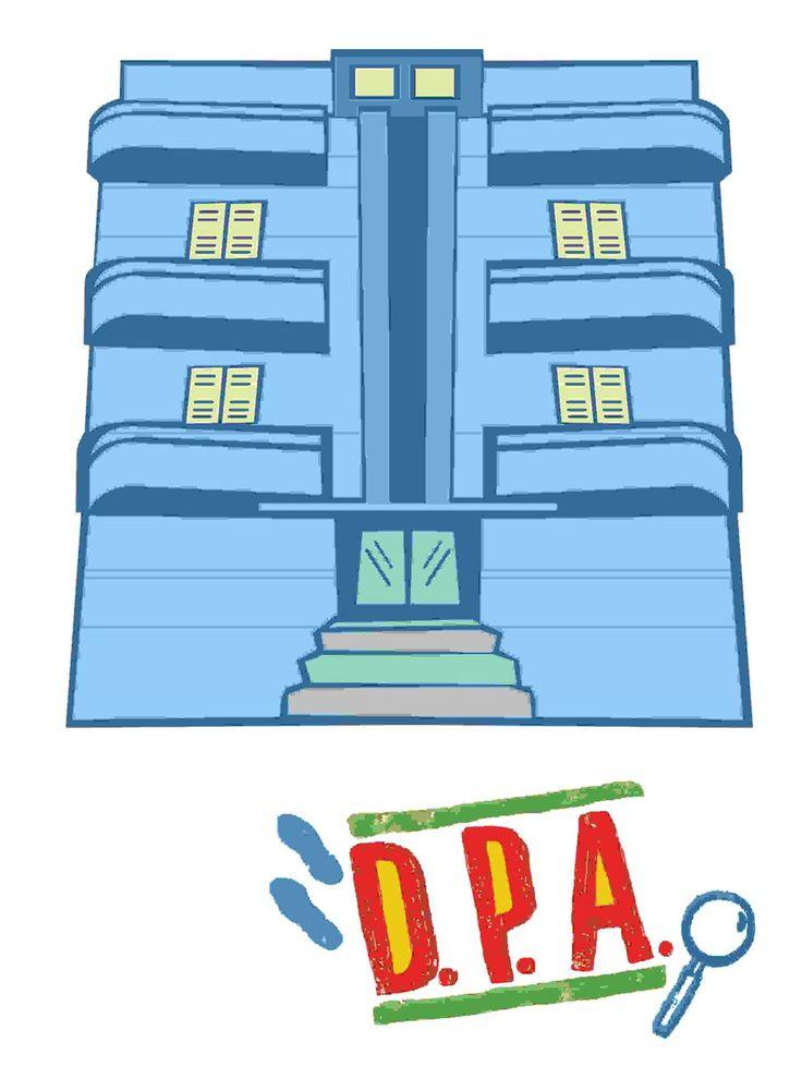 DPA Prédio Azul | Rima Comunicação Visual | Elo7
