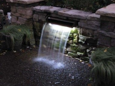 Led Light Strip For Waterfalls Pond Lights Pool Water Features Waterfalls Backyard