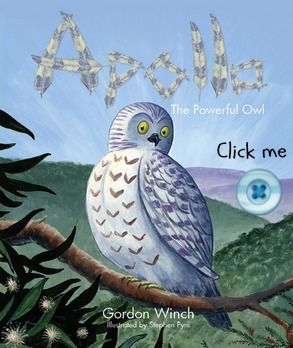 Click the button to order a copy of Apollo the Powerful Owl. For more picture books visit www.newfrontier.com.au #books #owl #illustration #kids