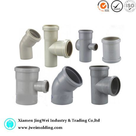 Plastic Injection Parts for Pipe Fitting