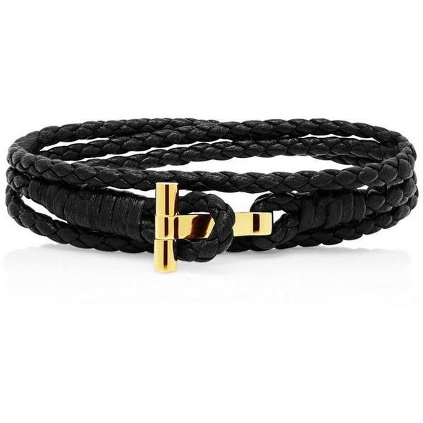 Gold Braided Wrap T Bracelet ❤ liked on Polyvore featuring jewelry, bracelets, wrap jewelry, braid jewelry, yellow gold bangle, gold bangles and woven jewelry