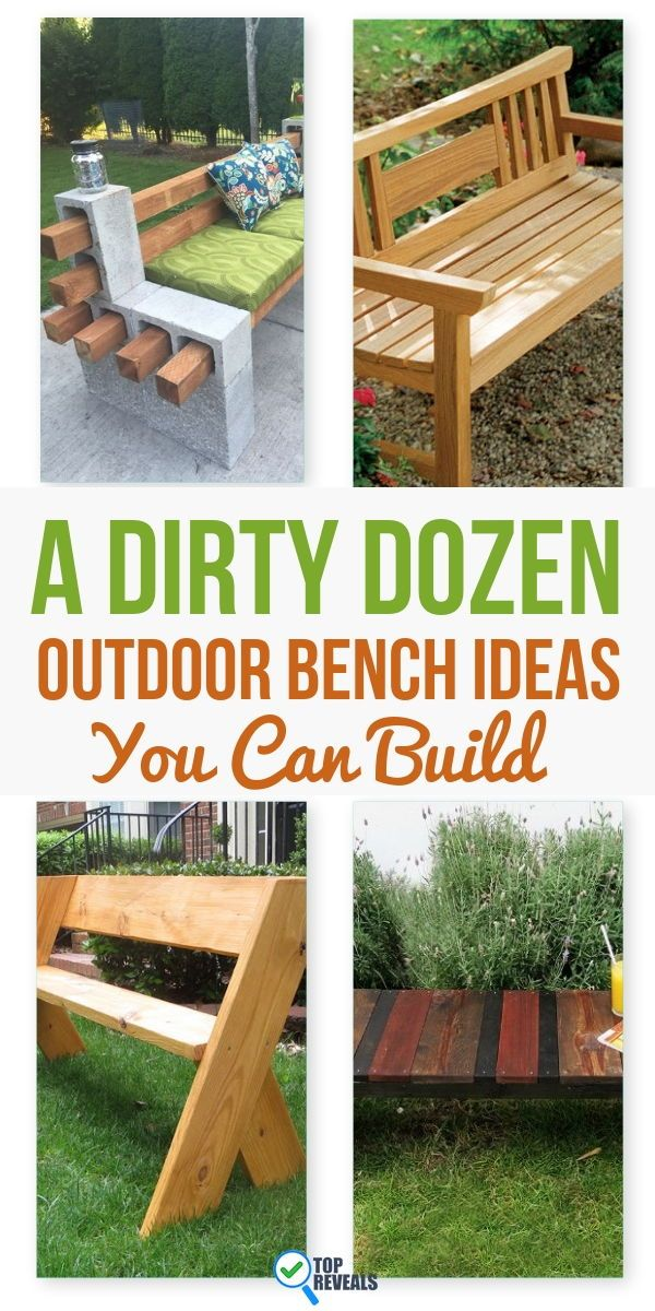 13 Diy Outdoor Bench Ideas You Can Build Top Reveal Diy Bench Outdoor Diy Outdoor Furniture Outdoor Bench