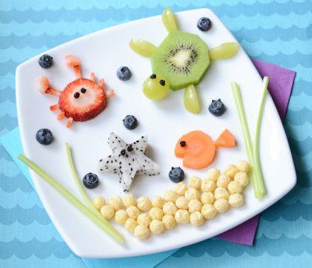 Kix Food Art Under The Sea 1