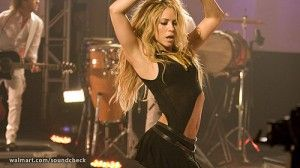 Shakira's She Wolf: Pretty much the best workout song ever.