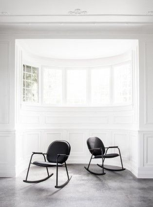 Rocking Chair by Frederik Werner