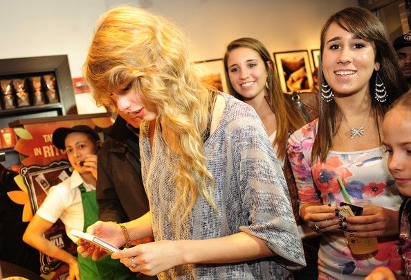 Taylor Swift in Taylor Swift Promotes Her New Album