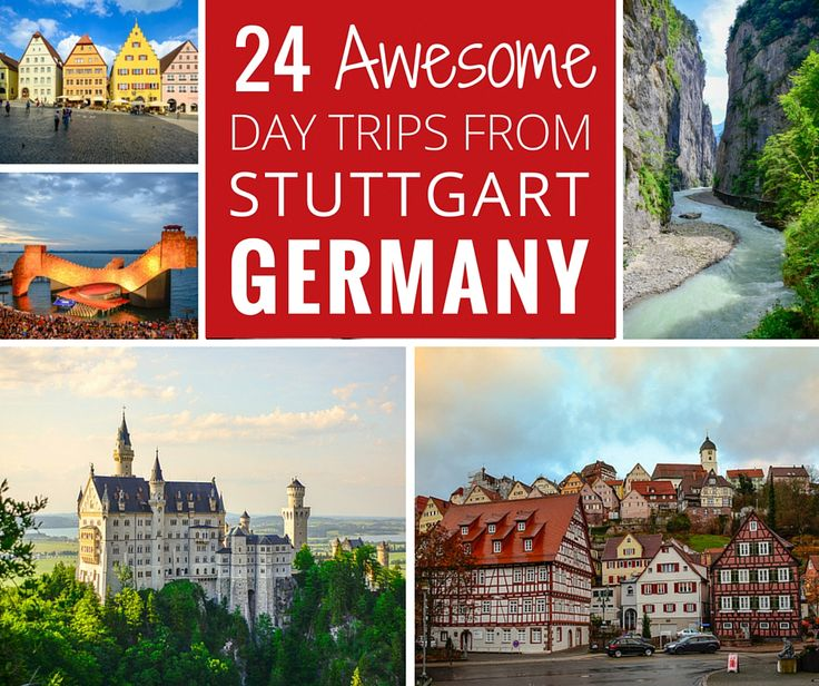 Adi shares her top 24 ultimate day trips from Stuttgart, Germany, filled with picturesque villages, food, castles, nature, and family fun.