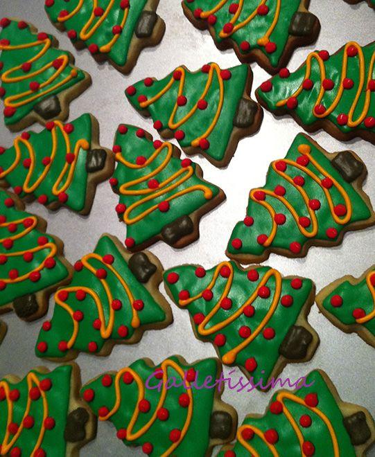 Galletas decoradas navidad | Galletissima