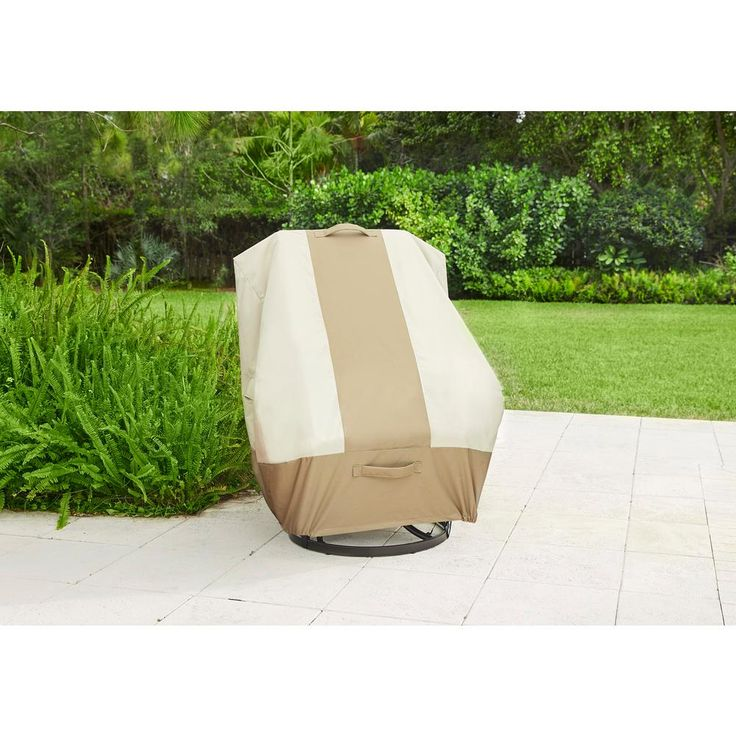 Hampton Bay High Back Outdoor Patio Chair Cover 517938 C The Home Depot Outdoor Patio Chairs Patio Chair Covers Patio Chairs