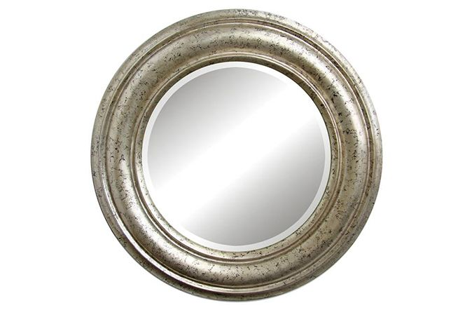 Attraction Antique Silver Round Mirror was €299 NOW €199  Buy Now  http://www.michaelmurphy.ie/product/attraction-mirror/