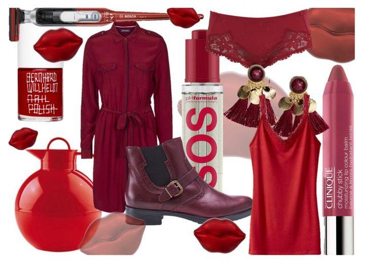 Rød er en klassisk farve, der aldrig går af mode. Den fåes i mange nuancer, men ens for dem alle er, at de giver liv til et ellers neutralt look, en lidt tam indretning eller et enkelt outfit