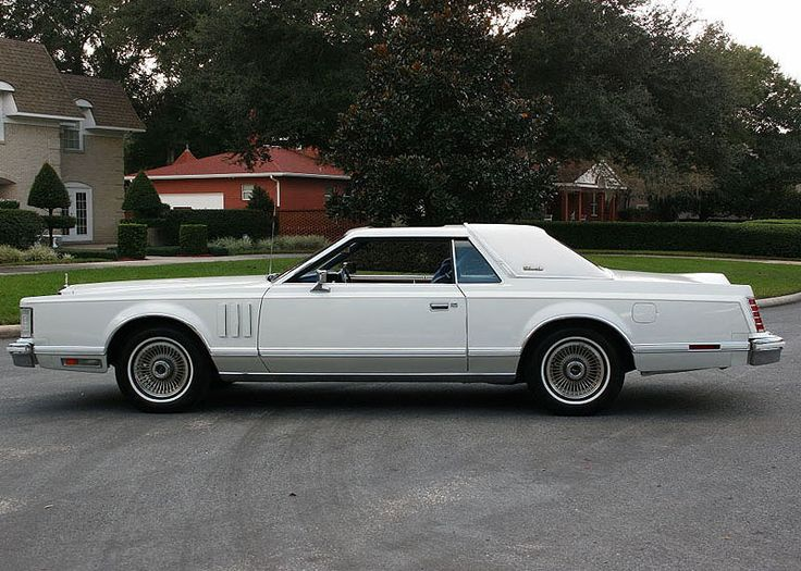 196 best images about Lincoln Mark 77 78 79 on Pinterest  Cars
