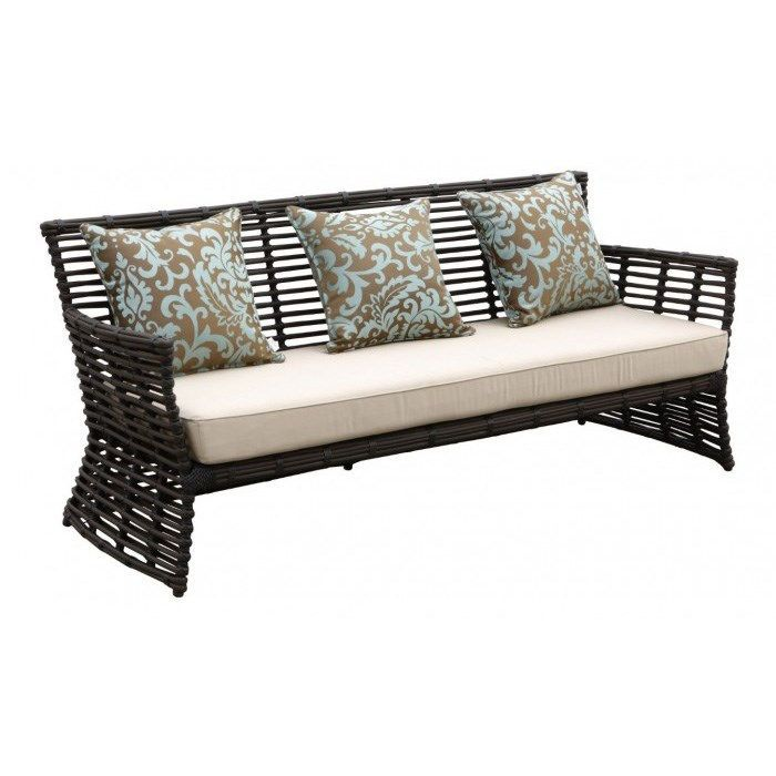 Sunset West 1089 23 Venice Sofa In Brown