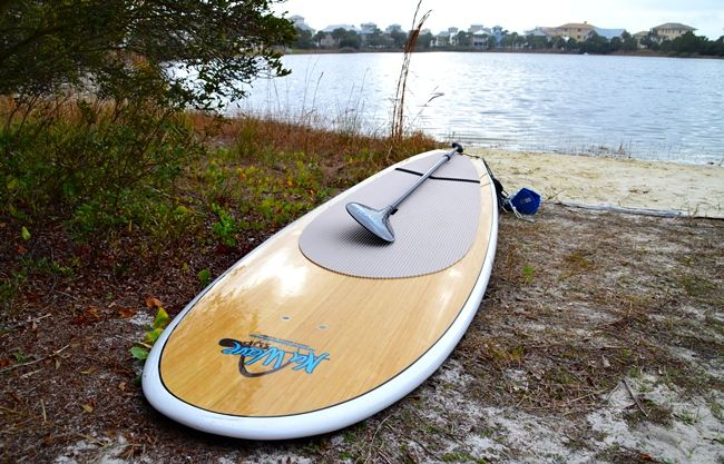 Paddle board for yoga