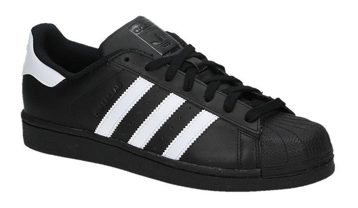Adidas SUPERSTAR zwarte lage sneakers --> http://www.sooco.nl/adidas-superstar-zwarte-lage-sneakers-21221.html