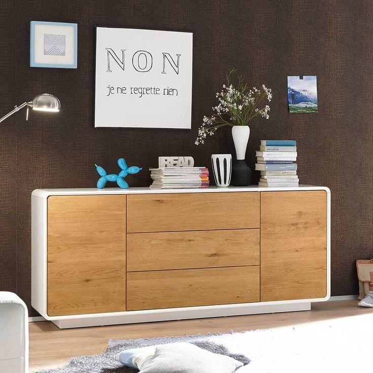 Die besten 25+ Sideboard aus massiver Eiche Ideen auf Pinterest - wohnzimmer eiche weis