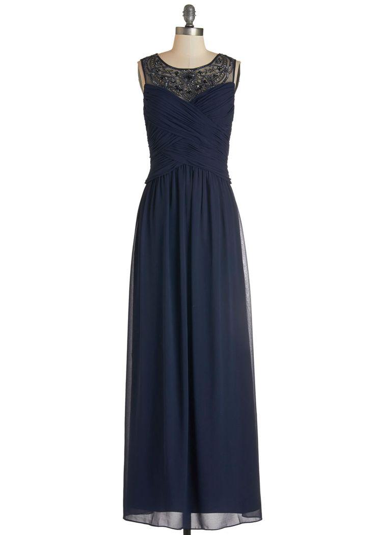 209 best midnight blue weddings images on pinterest for Navy maxi dresses for weddings