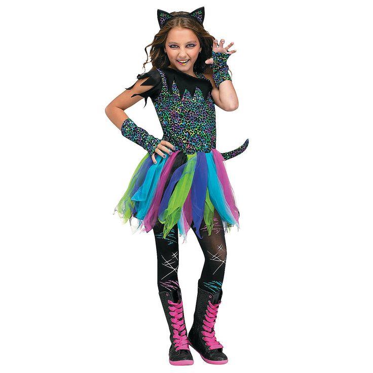 Wild Cat Costume for Girls - OrientalTrading.com