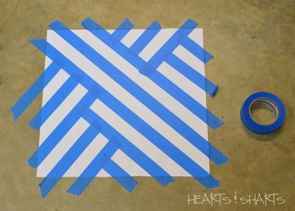 Design Using Painters Tape Hearts And Sharts Crafting Chicks Painters Tape Design Masking Tape Art Tape Painting