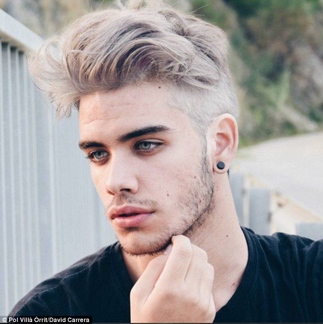 David Carerra, from Calella, Spain, was dubbed the 'perfect combination'of Zayn Malik and Justin Bieber when @DailyManCandy tweeted this picture