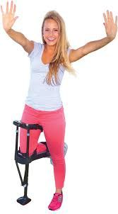 How to Prevent Shoulder Pain With A Knee Crutch