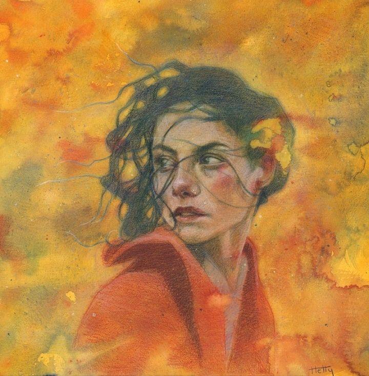 Hetty Lawlor Wins Heat 1 Of Sky Arts Portrait Artist Of The Year Cass Art Portrait Artist Artist Portraiture Art