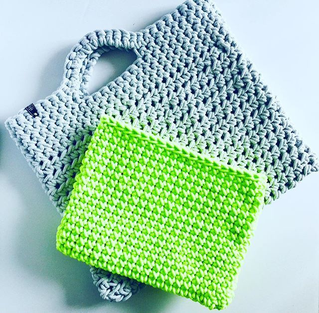 Sneak peek at a couple new products debuting at #ourbesttoyouregina Spring Show in April!! Tote bags and laptop sleeves made from fabulous cotton rope!      @hello_bobbiny #etsy @signatures.ca #handmade #handmadelive #shoplocal #shopsmall #cottonrope #crochet #crochetersofinstagram #crochetlove #laptopsleeve #cottontote #ywg #manitobamade #ourmakerlife