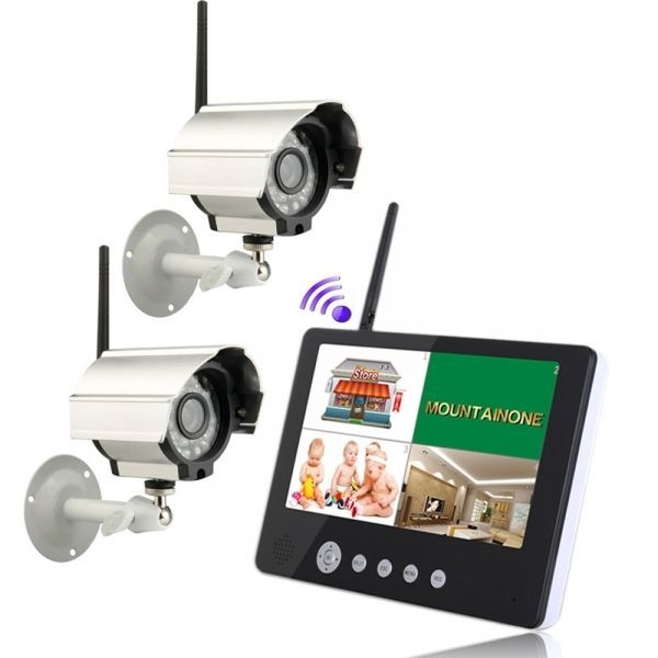 C, LCD Monitor 2.4GHz 4CH Wireless DVR Security System 2pcs Security Outdoor Cam: Bid: 240,02€ Buynow Price 240,02€ Remaining 09 days 23 hrs